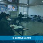 Avances de la negociación – 10 de marzo