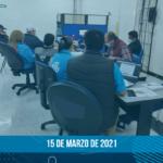 Comunicado de negociación – 15 de marzo de 2021