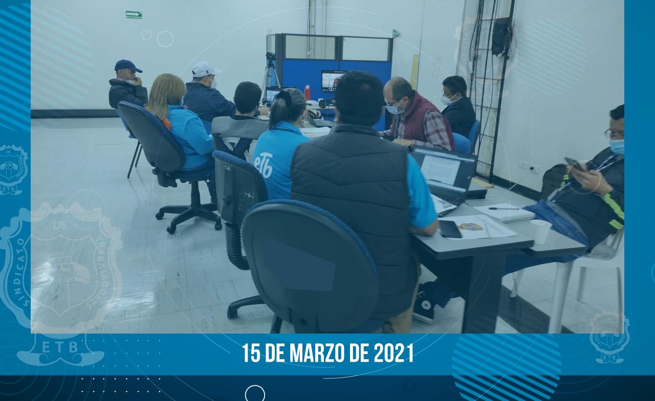 Comunicado de negociación - 15 de marzo de 2021