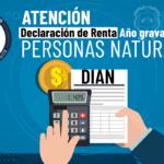 Declaración de Renta Año Gravable 2020 personas naturales