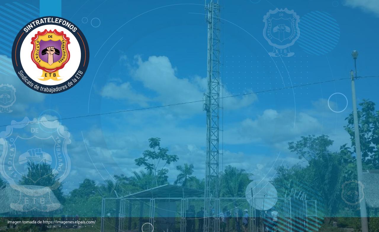 Sintrateléfonos rechaza la intervención de la embajada de los Estados Unidos en asuntos nacionales como el contrato de centros digitales para colegios rurales.